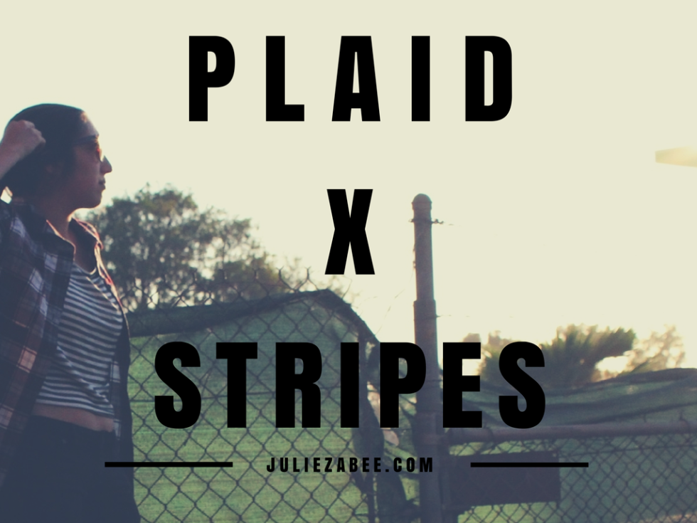 PLAID x STRIPES