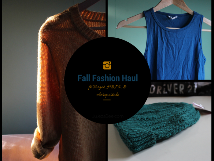 Fall Fashion Haul H&M
