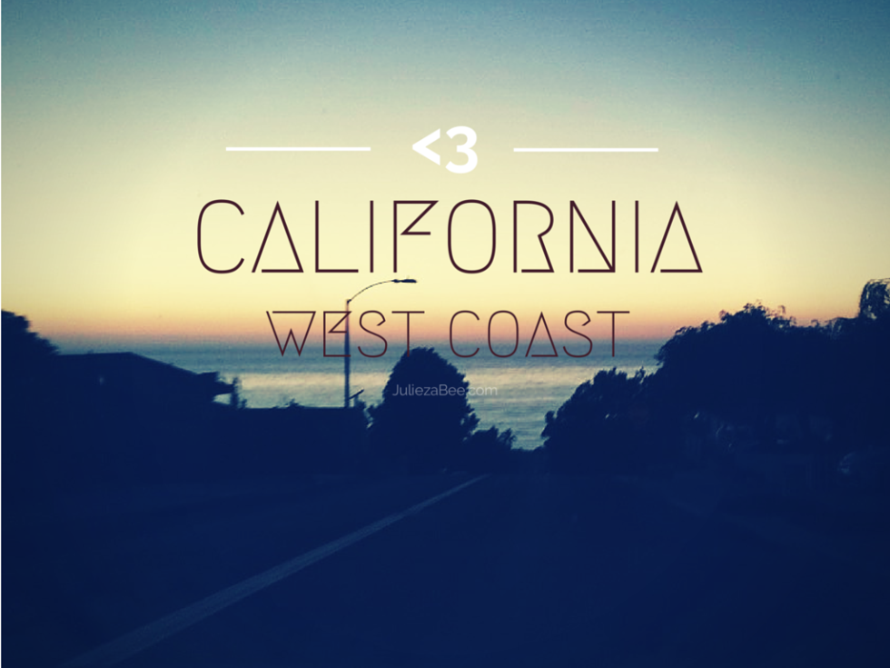 california west coast juliezabee.com