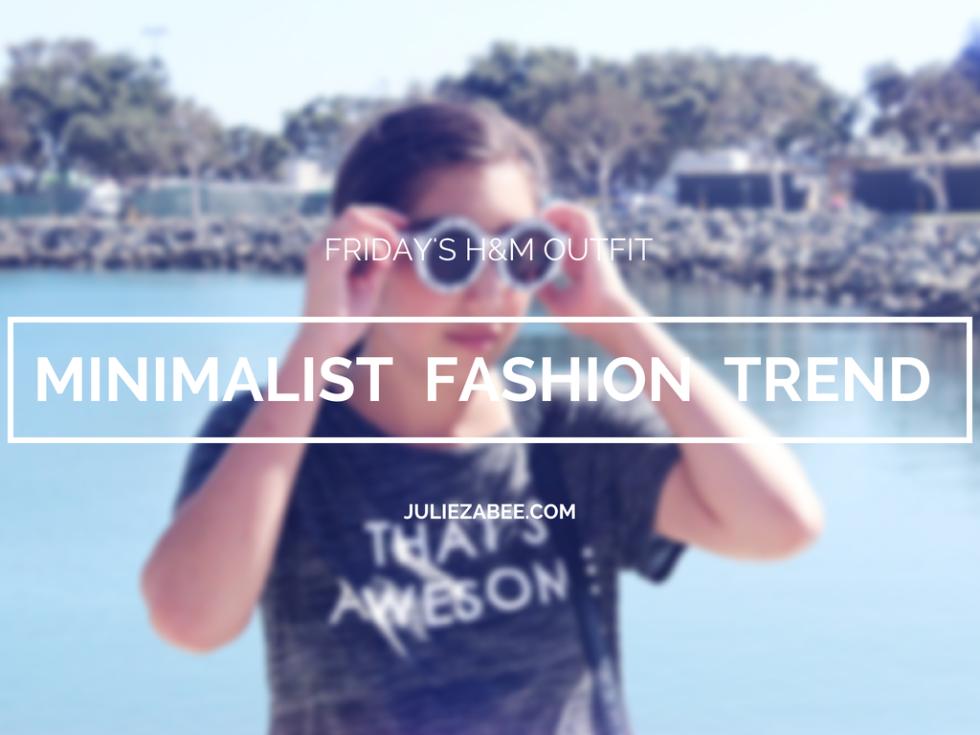 minimalist fashion trend