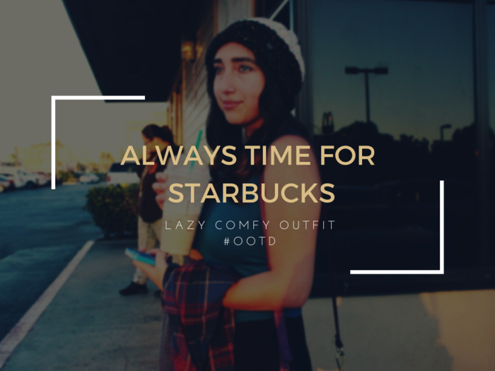 Always time for starbucks